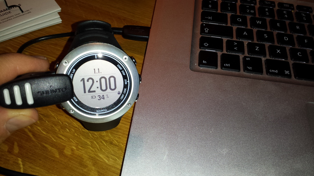 Suunto Ambit2 S First Impressions Self Tracking Exercise